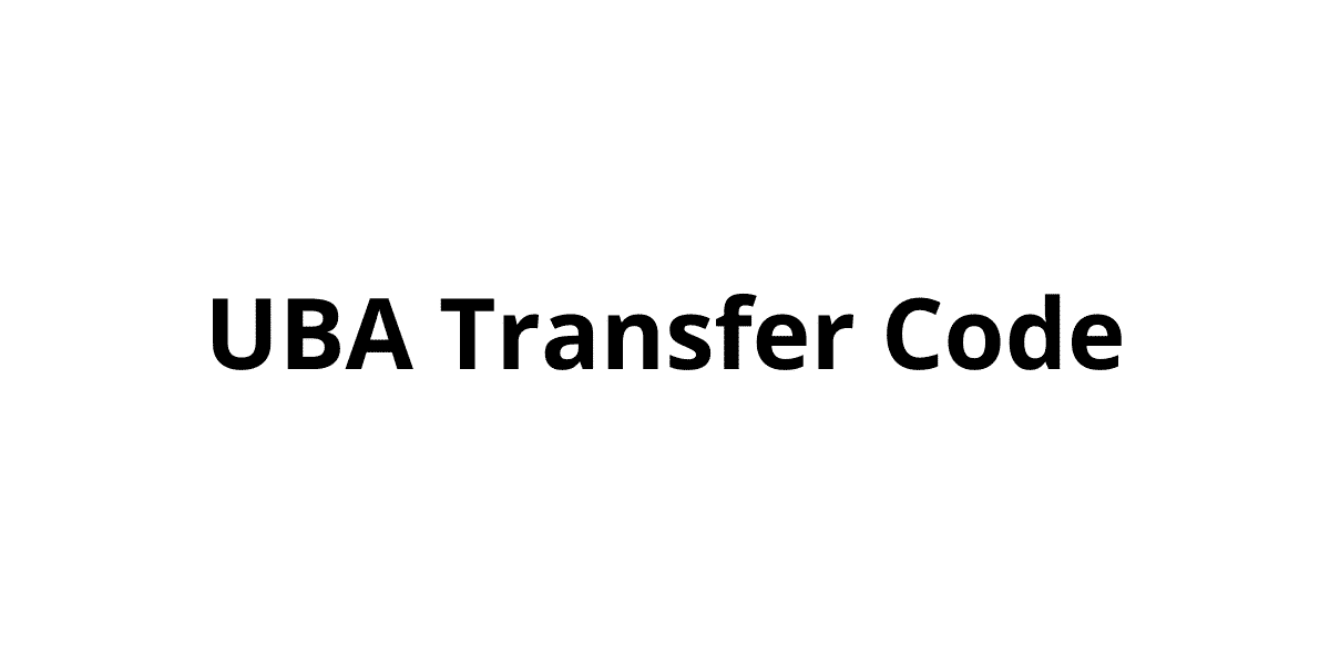 UBA Transfer Code and Mobile Banking App for Cash Transactions