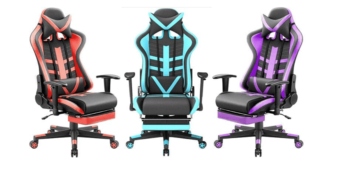 4 Best Gaming Chairs with Footrest and Massage