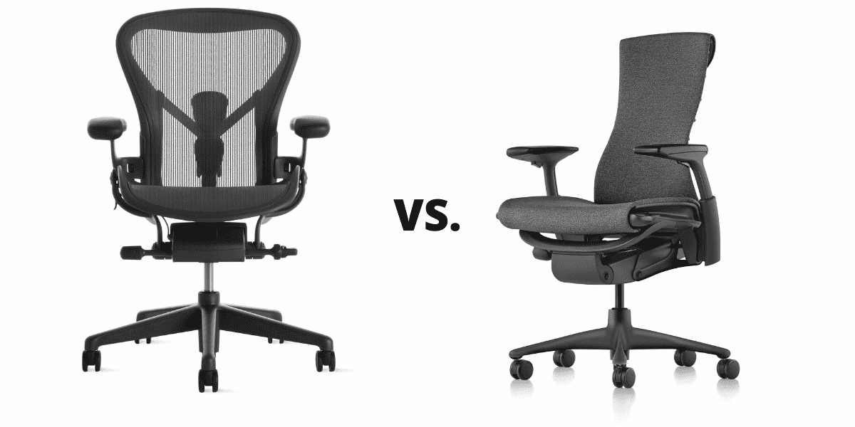 Herman Miller Aeron Vs. Embody Chairs Compared [New, Used, Refurbished]