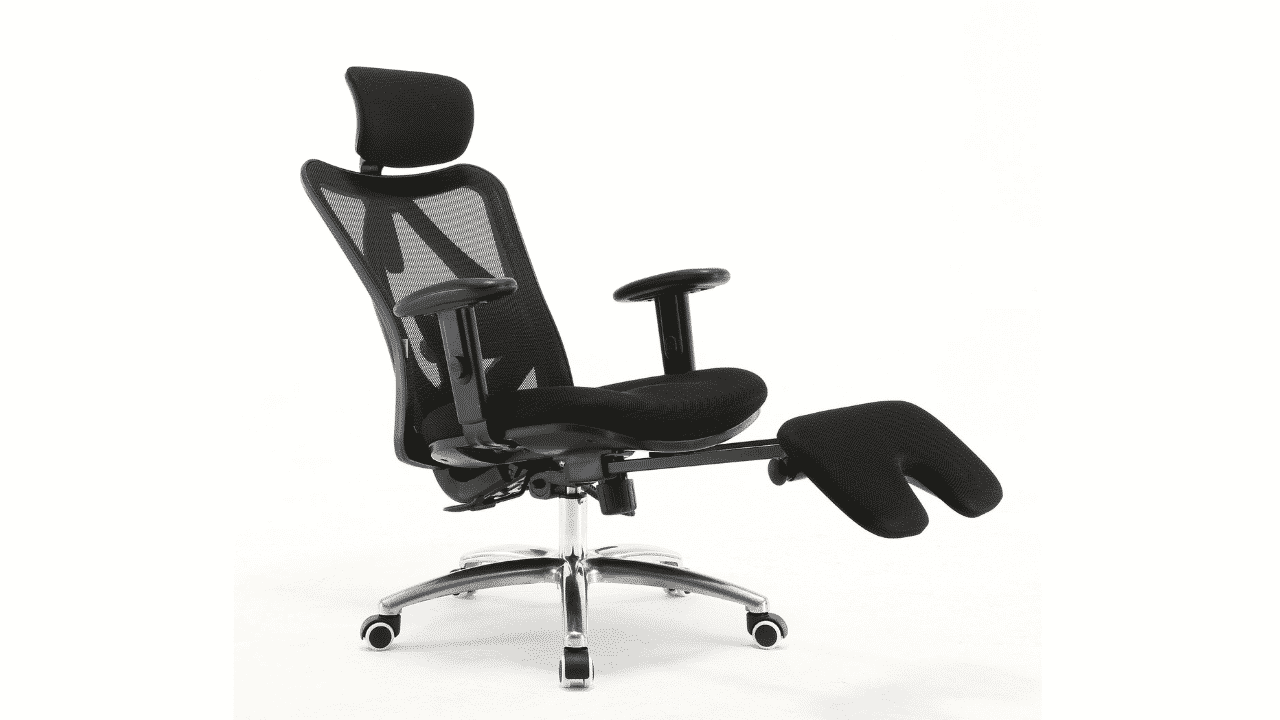 5 Best Ergonomic Office Chairs with Footrest [Reclining and Heavy Duty]