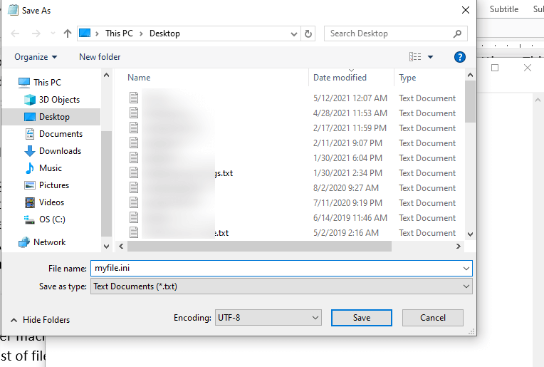 How to Create an INI File on Windows, Mac and Android