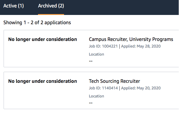 """What Does """"No Longer Under Consideration"""" Mean on Job Applications?"""
